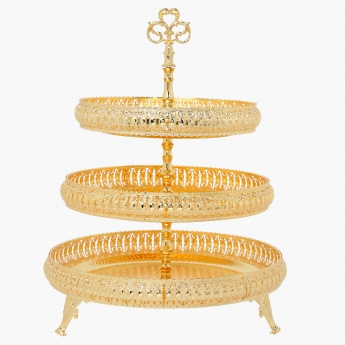 Three-Tier Cake Tray - 42x42x53 cms