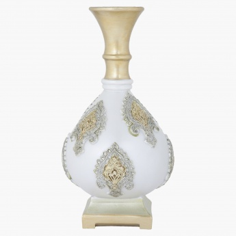 Laura Pearl Vase - 20.3x20.3x30.48 cms
