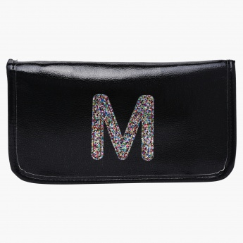 Passport Holder with Initial M - 23x12.5 cms