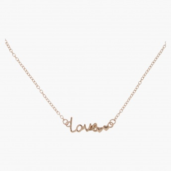 Love Necklace and Bracelet Set