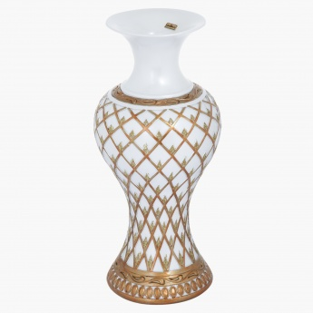 Golden Rush Vase - 20.3x20.3x30.48 cms