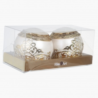 Elite d'Art  Ornament - Set of 2