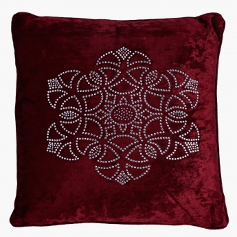 Elite d'Art Gwen Crystal Cushion - 45x45 cms