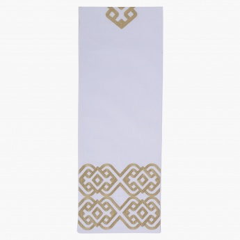 Elite D' Art Embellished Table Runner - 180 x 33 cms