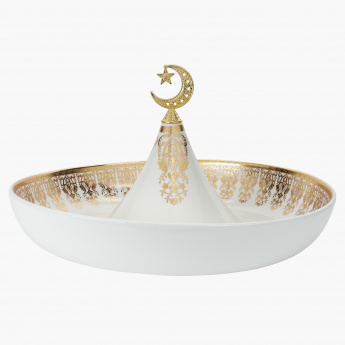 Crescent Bowl with Holder