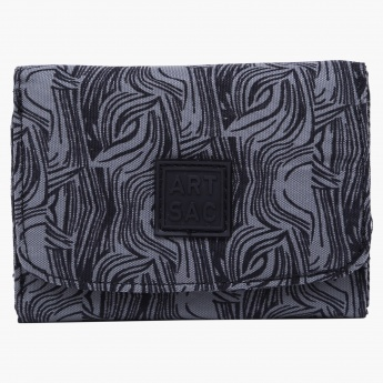 Art Sac Printed Trifold Wallet