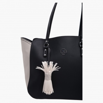 Marina Galanti Shopper Bag with Chunky Tassel