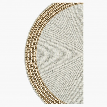Elite d'Art Altair Beaded Placemat - 36 cms