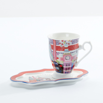 Printed Mug with Tray
