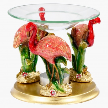 Elite d' Art Flamingo Oil Burner with Tealight
