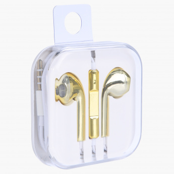 Metallic Finish Earphones