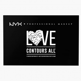 NYX Professional Make Up Love Contours All Palette