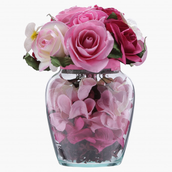 Elite d'Art Orchid Scented Flower Vase - 400 gms