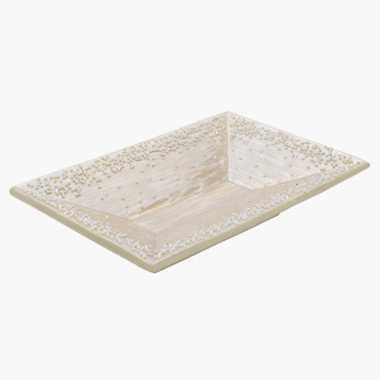 Elite d' Art Embellished Decorative Tray
