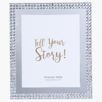 American Atelier Beaded Photo Frame - 8x10 inches