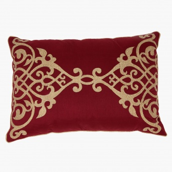 Elite d'Art Embroidered Cushion - 35x50 cms