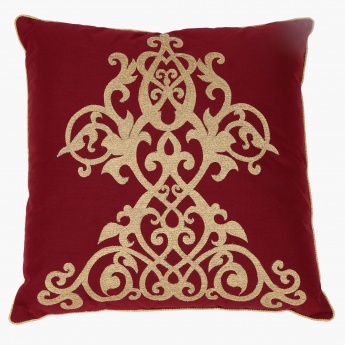 Elite d'Art Embroidered Cushion - 45x45 cms