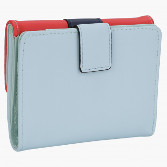 Charlotte Reid Wallet with Magnetic Snap Closure