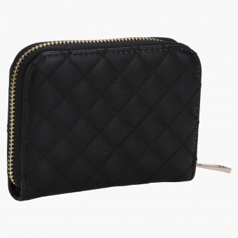 Charlotte Reid Embellished Zip Around Wallet