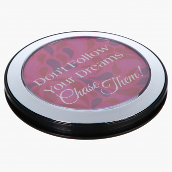 Quote Compact Mirror