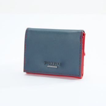 Fiorelli Tri-Fold Wallet with Press Button Closure