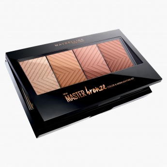 Maybelline Master Bronze Color and Highlight Kit