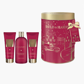 Baylis & Harding Midnight Fig and Pomegranate Round Set