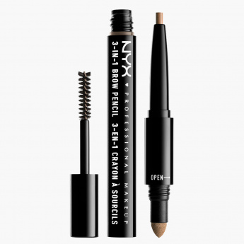 NYX Professional Make Up 3-in-1 Brow Pencil
