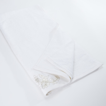 Embroidered Hand Towel - 70x140 cms