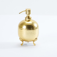 Hammered Satin Gold Lotion Dispenser