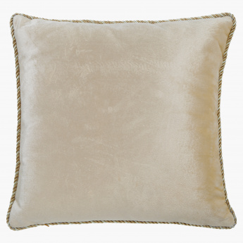 Elite d'Art Embroidered Filled Cushion - 50x50 cms