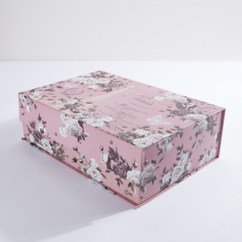 Tri-Coastal Printed Trinket Box