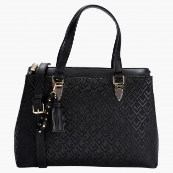 Sasha Textured Tote Bag