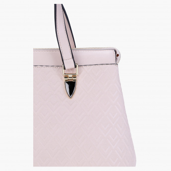 Sasha Textured Handbag