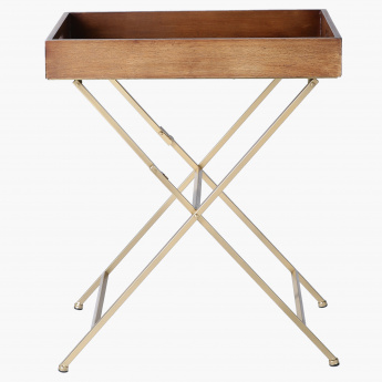 Elite d'Art Tray Table With Pattern