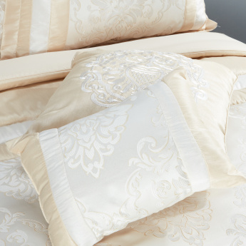 Elite d'Art Jacquard 6-Piece King Comforter Set - 233x270 cms