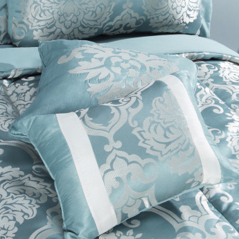 Elite d'Art Portia Textured 6-Piece King Size Comforter Set