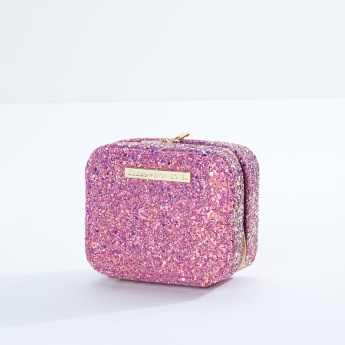 9310d8c7e0 Glitter Textured Cosmetic Purse