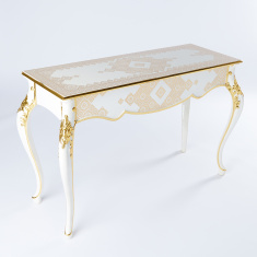 Printed Console Table