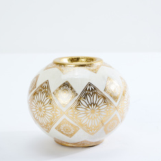 Floral Print Tealight Holder