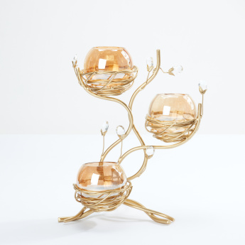 Decorative Tealight Holder with Stand