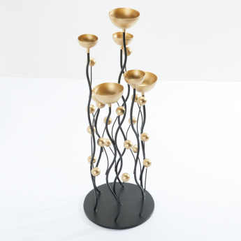 Decorative Multi-Tealight Holder with Stand