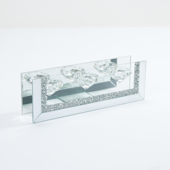 Decorative Tealight Candle Holder with Tray