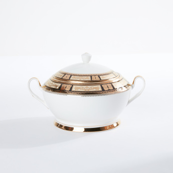 Printed Decorative Soup Tureen