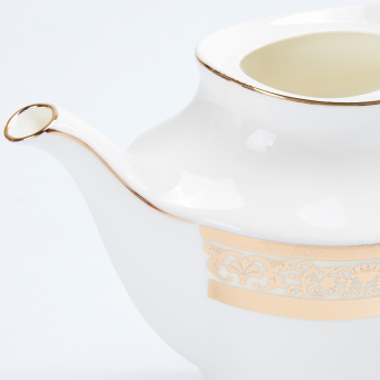 Decorative Teapot with Lid and Handle