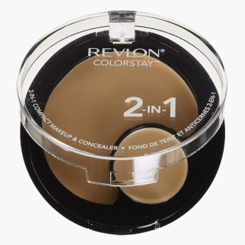 REVLON ColorStay 2-in-1 Compact Foundation and Concealer