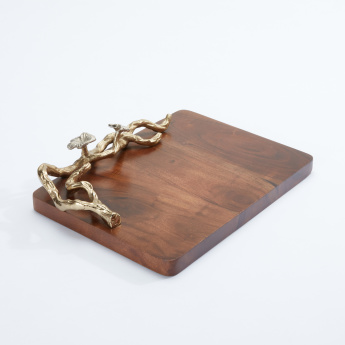 Decorative Rectangular Cheese Board