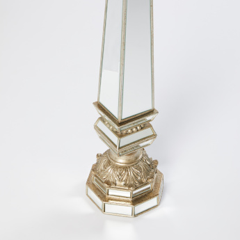 Mirror Detail Candle Holder