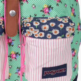 22a5277fe Jansport Floral Print Bucket Backpack | Backpacks | Backpacks & Bags ...