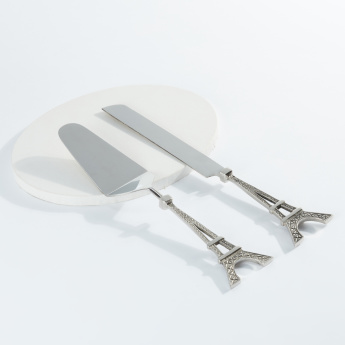 Eiffel Tower 2-Piece Cake Server Set
